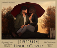 Diversion - Under Cover - Couple Pose (Wear To Unpack)