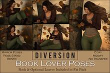 Diversion - Book Lover Poses // Bento