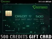 ★ Magic Emerald Gift Card ★ L$ 500 - Prepaid Credits