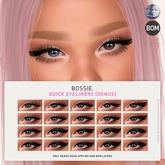 Bossie. quick eyeliners [genus] (wear me)