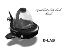 D-LAB Speed Boat whale shark BL-ve
