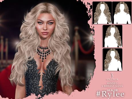 Sintiklia - Hair Rylee - Light Blondes