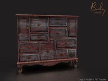 Barley - Cornwall Set - Burgundy Dresser