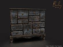 Barley - Cornwall Set - Charcoal Dresser