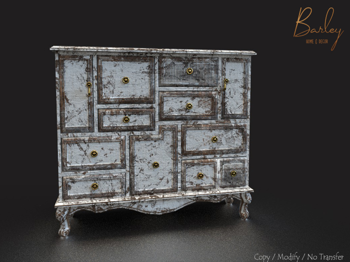 Barley - Cornwall Set - Pale Dresser