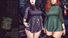 [QE] Daphne Sweater Dress -Winter Magic-
