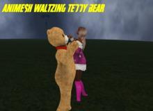 Waltzing Teddy bear