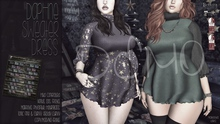 [QE] Daphne Sweater Dress -Winter Magic- DEMO