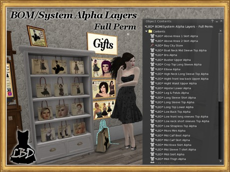 *LBD* BOM/System Alpha Layers - Full Perm