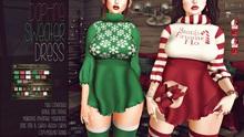 [QE] Daphne Sweater Dress -Christmas-