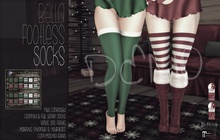 [QE] Bella Footless Socks -Christmas- DEMO