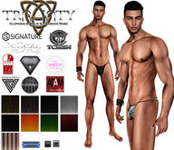 TCMen - Giovanni's Speedos w/ Ctrl Hud Standard & Large Bulge (Adam/Aesthetic/David/Gianni/Jake/Slink/TMP)