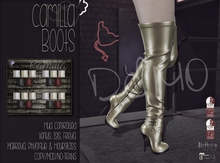 [QE] Camilla Boots -Holiday Essentials- DEMO (Add Me!)