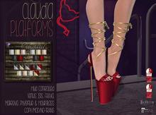 [QE] Claudia Platforms -Holiday Essentials-