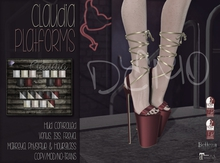 [QE] Claudia Platforms -Holiday Essentials- DEMO