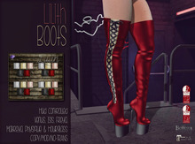 [QE] Lilith Boots -Holiday Essentials-
