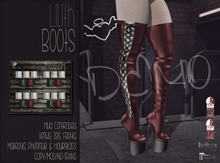 [QE] Lilith Boots -Holiday Essentials- DEMO