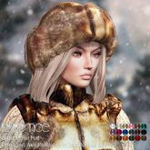 Baiastice_Evgenia Fur Hat-18 Colors all by HUD