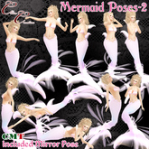 *CC* Mermaid poses-2~with mirror pose