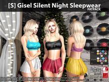 [S] Gisel Silent Night Sleepwear Fatpack