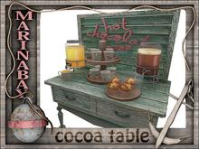 cocoa table