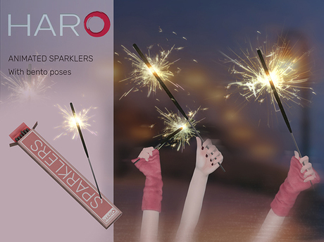 Animated Sparklers