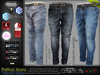 Pathos Jeans Pants Male Fatpack - Fashionnatic