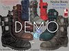 DEMO Sinder Male Men Boots- Mesh - Legacy, Adam, Slink, Aesthetic, Signature Gianni - Geralt, Belleza Jake