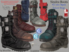 Sinder Male Men Boots- Mesh - Legacy, Adam, Slink, Aesthetic, Signature Gianni - Geralt, Belleza Jake