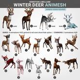 SEmotion Libellune Winter Deer Animesh #4 RARE