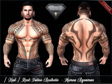 [ Hud ] Tattoo Applier Aesthetic - Momoa Aquaman