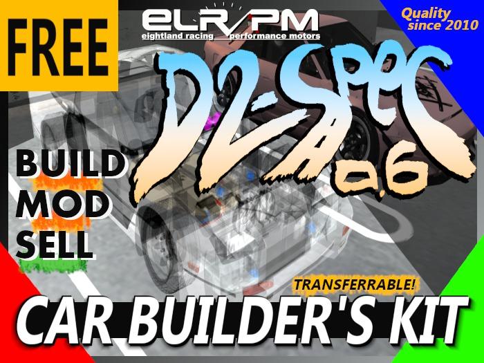 D2-Spec 0.6 // Free Car Builder's Kit