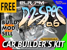 D2-Spec 0.6 // Free Car Builder's Kit