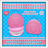 Kawaii Couture Cutie Cookies Bag Strawberry