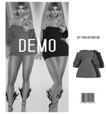 EVE. Off-Shoulder Bodycon Dress [DEMO] ::Kloss::