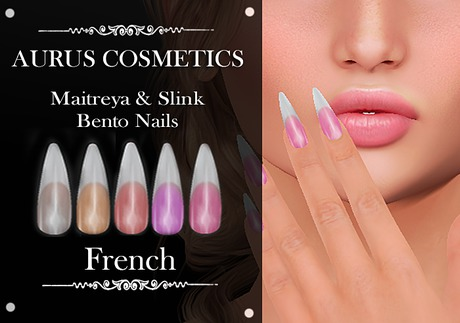 A U R U S - French Bento Nails -Maitreya & Slink