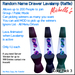 Lavalamp Raffe Name Drawer Pack 3