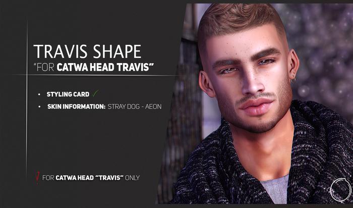 """Catwa Head """"TRAVIS"""" Shape (Wear me!)"""