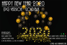 [NB] ~ Happy New Year 2020 {PG-Gold/Blk} (boxed)