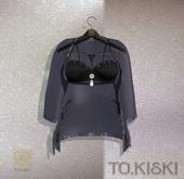 TO.KISKI - Lingerie Laura Set - Black (add me)