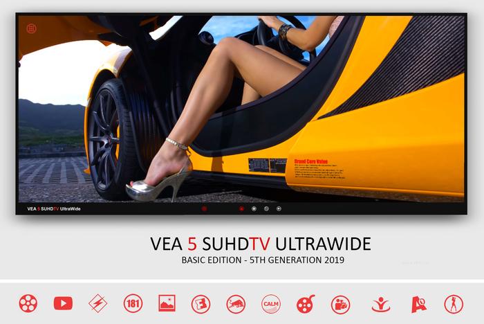 VEA 5 LED TV Basic - Youtube Movies Media Television Shoutcast
