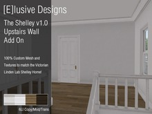 [E] Victorian Add On The Shelley v1. Upstairs Wall Divider with Texture Hud