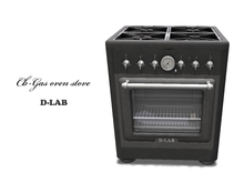 D-LAB Gas oven stove-ve