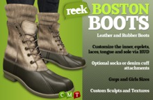Reek - Boston Boots - Fat Pack - Great Bean-style boots!