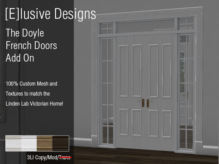 [E] Victorian The Doyle French Doors