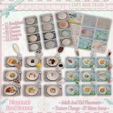 CCC Placemat Food Rezzer {Adult & Kid}