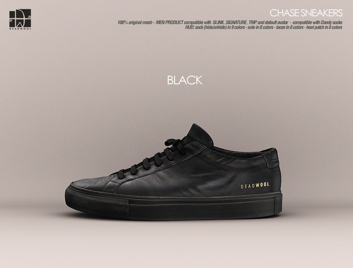 [Deadwool] Chase sneakers - black