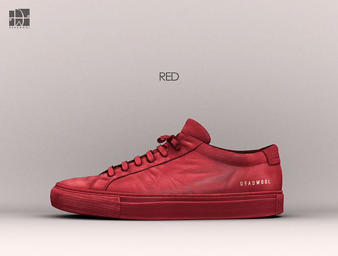 [Deadwool] Chase sneakers - red