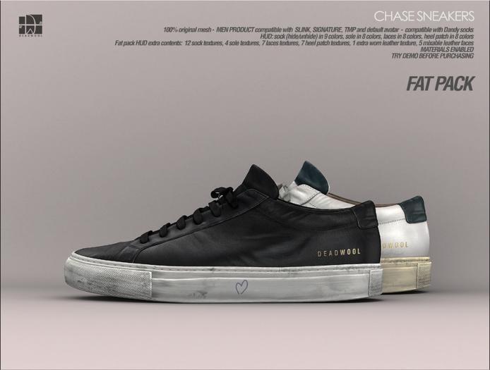 [Deadwool] Chase sneakers - Fat pack