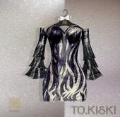 TO.KISKI - Aisha dress / BLACK